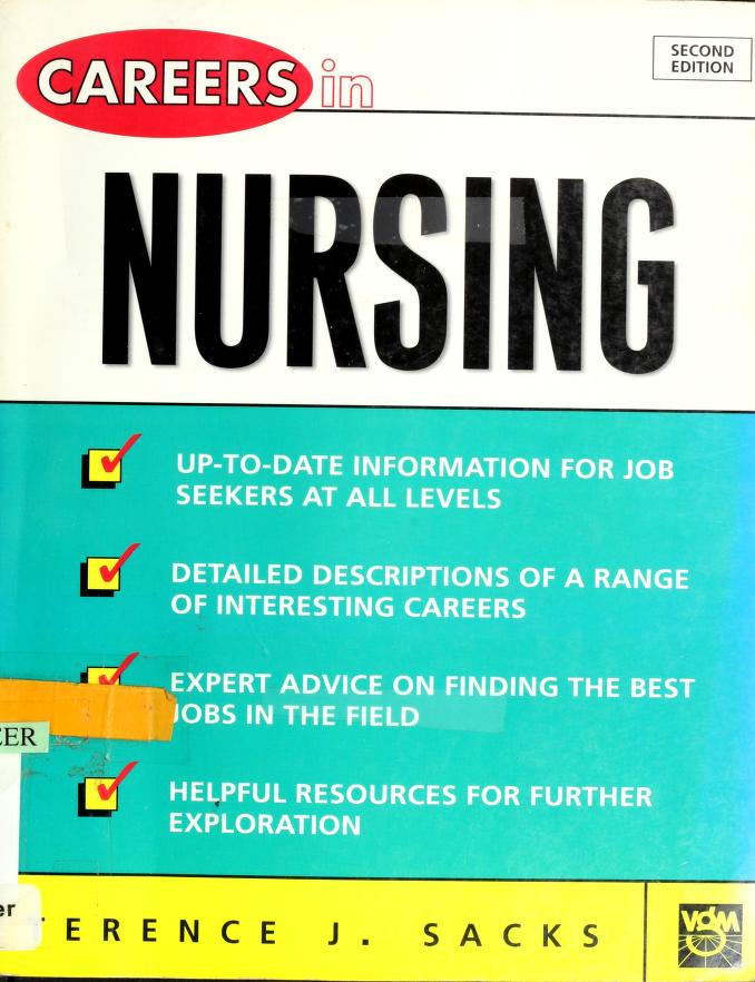 Careers in nursing by Terence J Sacks