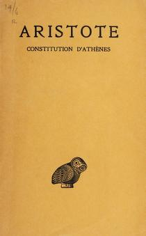 Cover of: Constitution d'Athènes | Aristotle