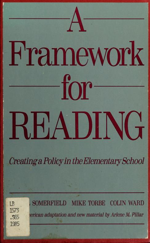 A framework for reading by Muriel Somerfield