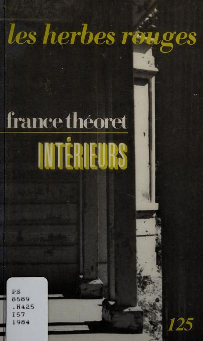 Intérieurs by France Théoret