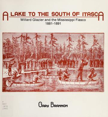 Cover of: A lake to the south of Itasca | Gary Brannon