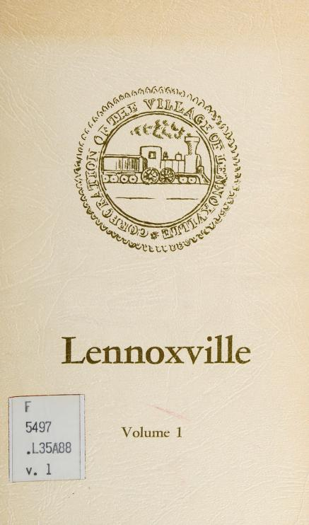 Lennoxville / compiled by Kethleen H. Atto and [History] Committee, Lennoxville-Ascot Historical and Museum Society [puis] compiled by Graham Patriquin and [History] Committee, Lennoxville-Ascot Historical and Museum Society. -- by Kathleen H. Atto