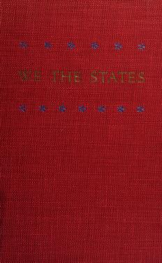 Cover of: We the states | Virginia. Commission on Constitutional Government